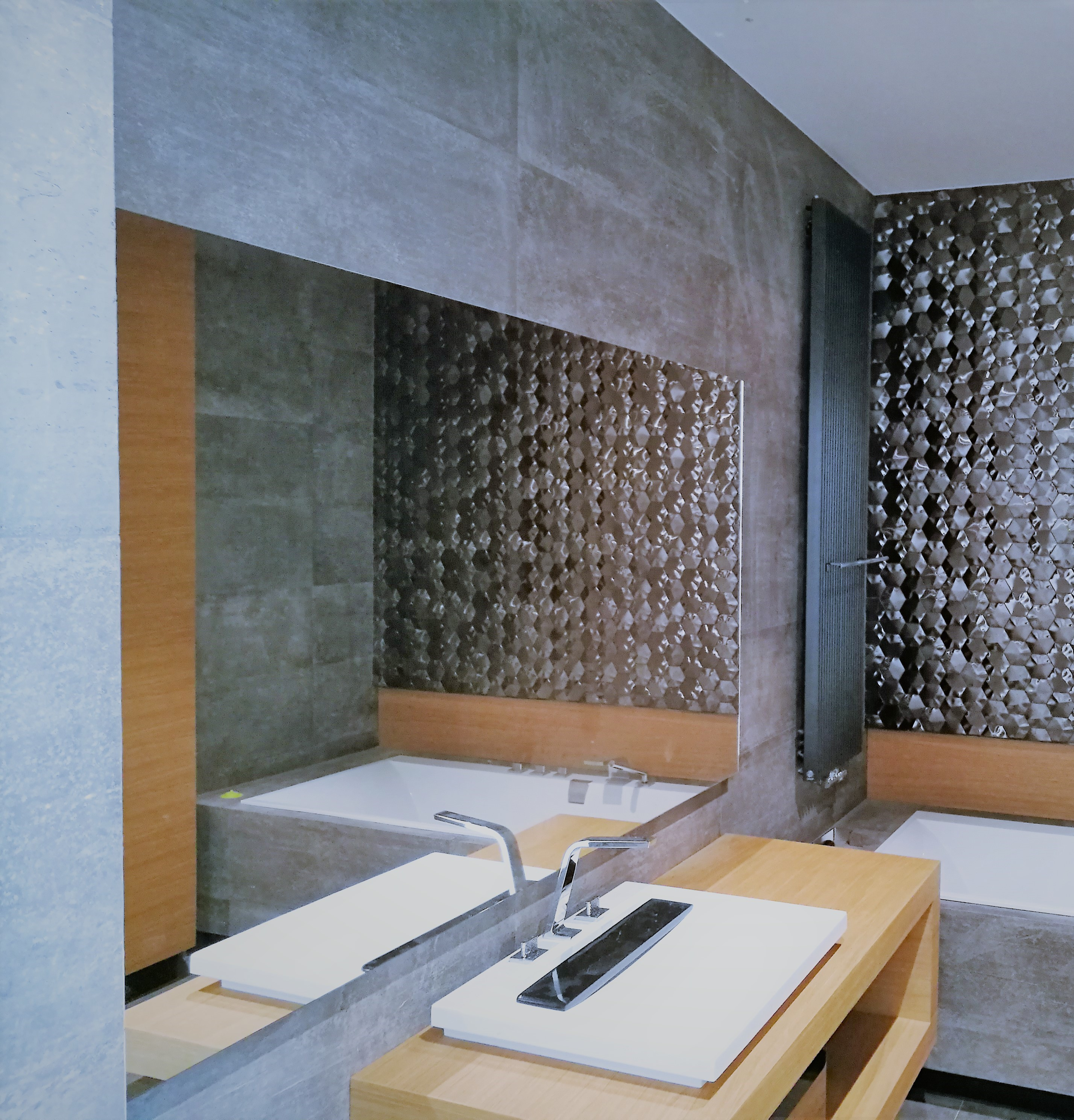 Lustro w łazience nad umywalkę